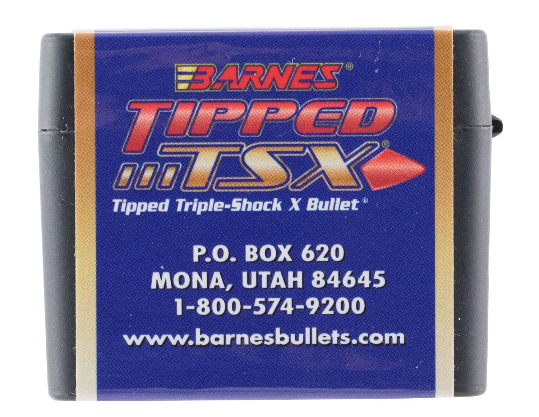 Barnes Tipped TSX Bullets  <br>  6.5mm 120 gr. 50 pack