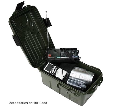 MTM Case-Gard S1074-11 Survivor Dry Box Forest Green Polypropylene