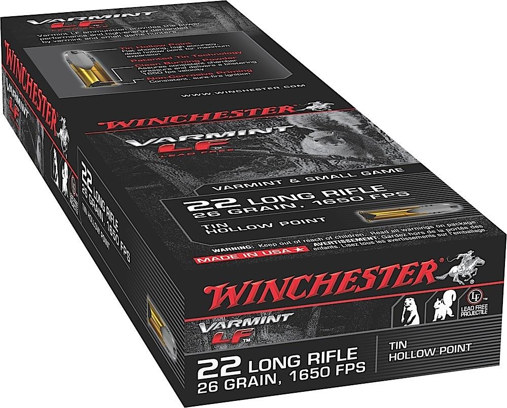 Winchester Ammo X22LRHLF Super-X 22 Long Rifle 26 GR Hollow Point 50 Bx/ 40 Cs