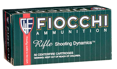 Fiocchi 3006A Rifle Shooting 30-06 Springfield FMJ Boat Tail 150 GR 20Bx/10Cs