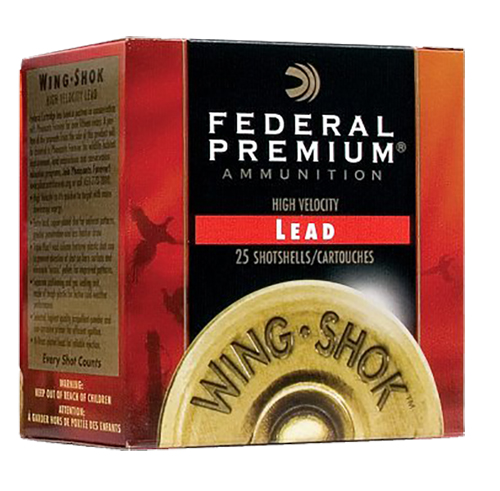 Federal PF1634 Premium Upland Wing-Shok  High Velocity 16 Gauge 2.75