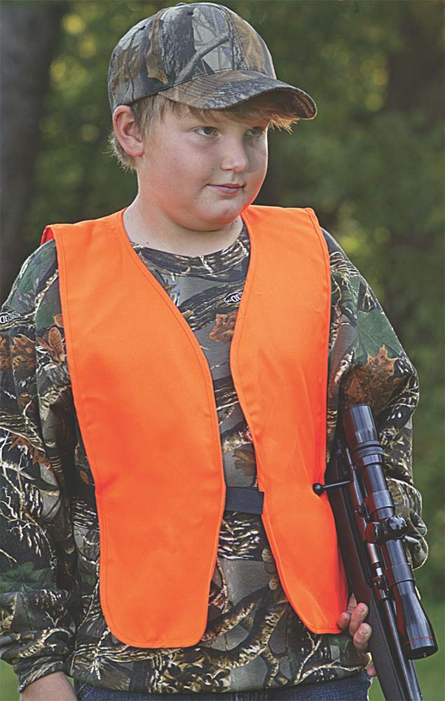 Allen Youth Hunting Vest  <br>  Blaze Orange