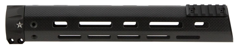 TacStar 1081116 Handguard With Sight Rail AR-15 Black Carbon Fiber 12' Picatinny/M-LOK