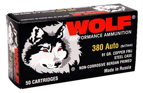 Wolf 45TINS PolyFormance Pistol 45 Automatic Colt Pistol (ACP) 230 GR Full Metal Jacket 50 Bx/ 9 Cs 450 Total (Military Tin)