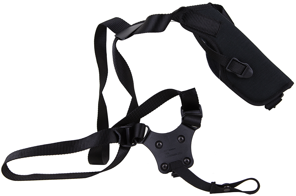 Blackhawk 40VH15BKR Vertical Shoulder Holster Adjustable 3.75-4.5