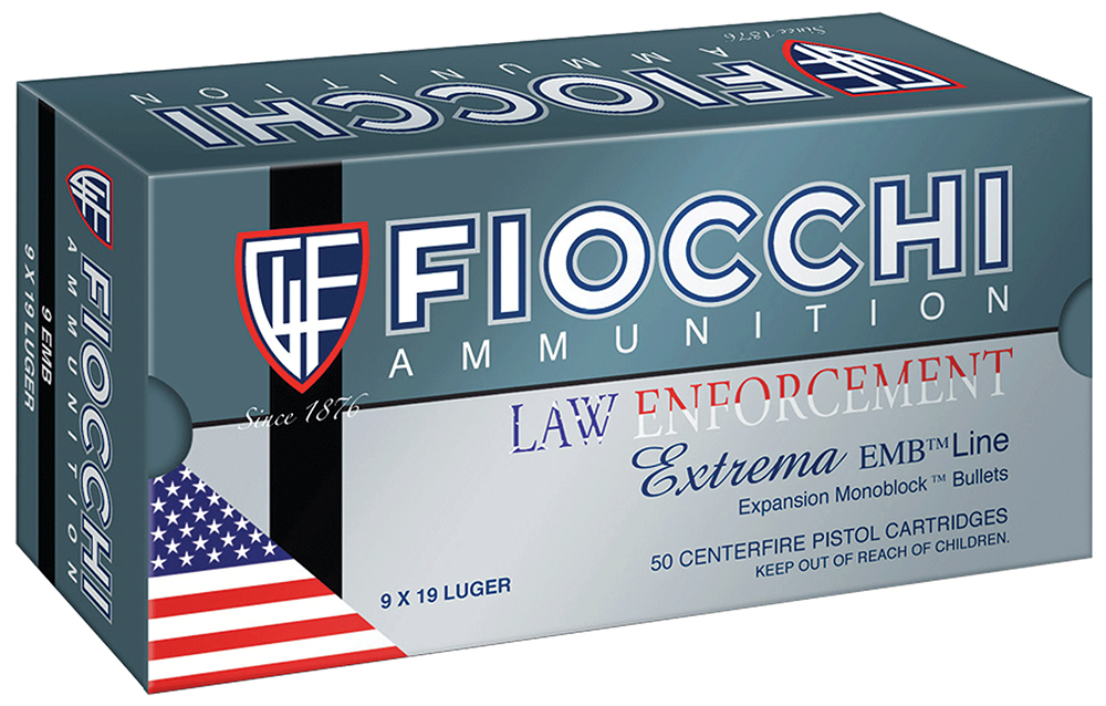 Fiocchi 9X18 Specialty 9x18mm Ultra 100 GR Metal Case (FMJ) 50 Bx/ 20 Cs