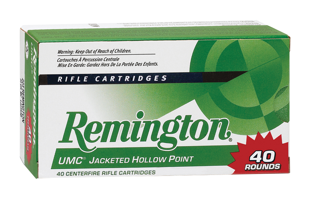 Remington Ammo L308W4B UMC Value Pack 308 Win/7.62 NATO 150GR MC 40Bx/10Cs