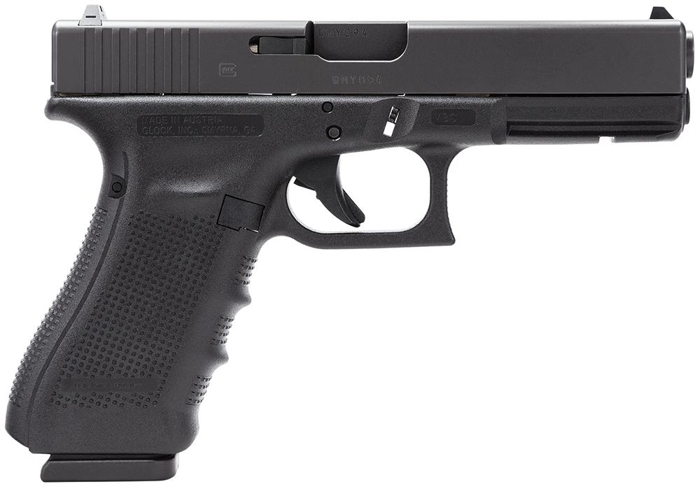 Glock PG1750201 G17 Gen4 Double 9mm Luger 4.48