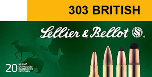Sellier & Bellot SB303B Rifle 303 British 150 GR Soft Point 20 Bx/ 20 Cs