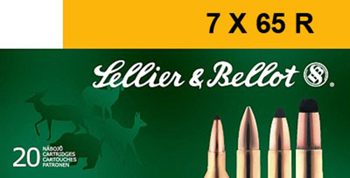 Sellier & Bellot SB765RA Rifle Hunting 7X65mmR 173 GR SPCE (Soft Point Cut-Through Edge) 20 Bx/ 20 Cs