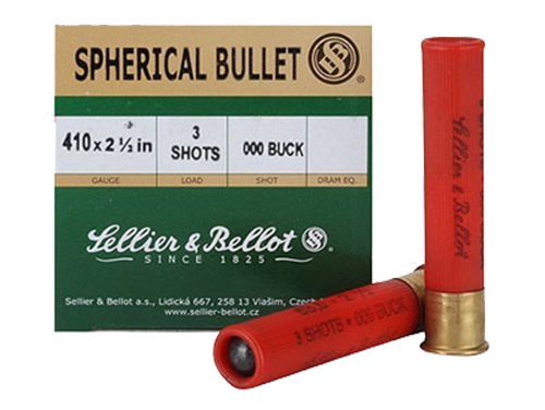 Sellier & Bellot SB410A Shotgun 410 Ga 2.5
