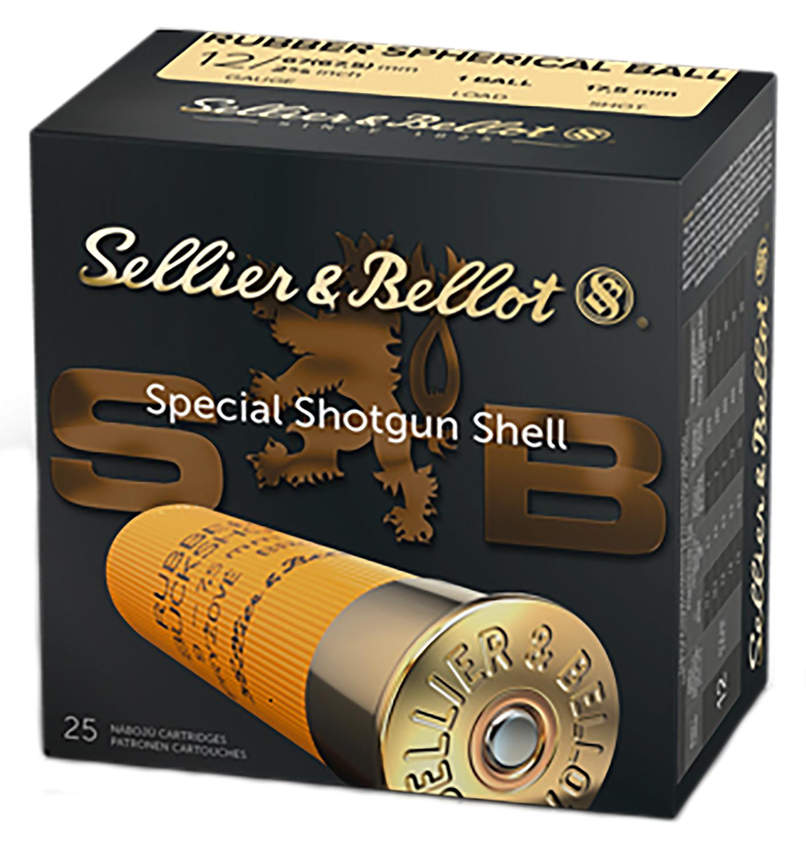 Sellier & Bellot V075212U Sperical Ball 12ga 2.75