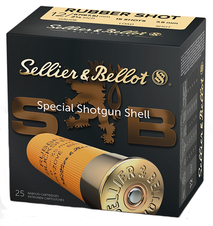 Sellier & Bellot SB12RSA Special Rubber Ball 12 Gauge 2.75