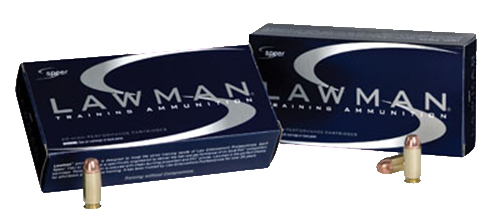 Speer Ammo 53957 Lawman   40 Smith & Wesson (S&W) 155 GR Total Metal Jacket 50 Bx/ 20 Cs
