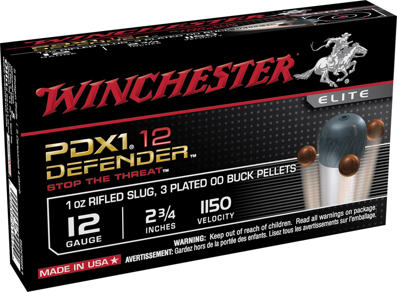 Winchester Ammo S12PDX1 Elite PDX1 Defender 12 Gauge 2.75