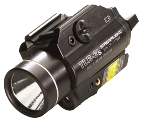 Streamlight 69230 TLR-2s LED Strobing Weapon Light w/Red Laser Alum Black