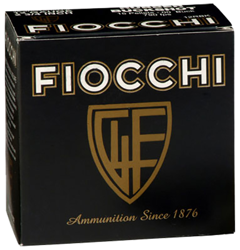 Fiocchi 12LEDEMO Lead and Wax Buckshot/Slug 12 Gauge 2.75