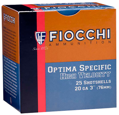 Fiocchi 203HV8 High Velocity Shotshell 20 Gauge 3