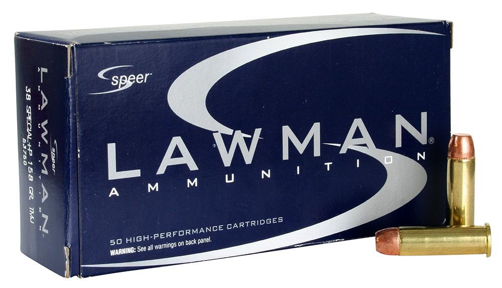 SPR LAWMAN 38SPL+P 158GR TMJ 50/1000