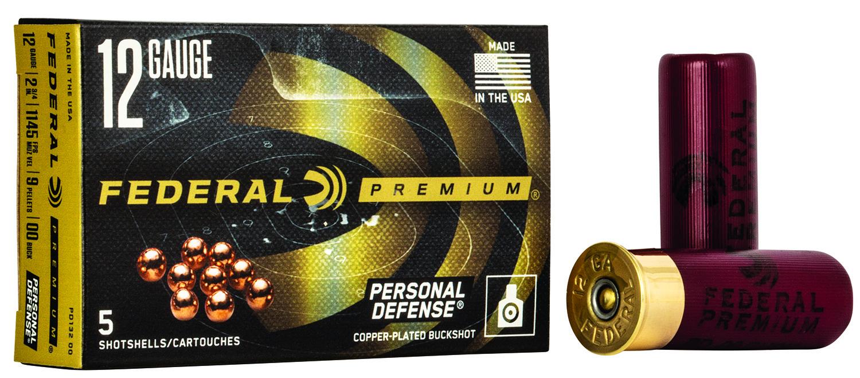 Federal PD13200 Premium Personal Defense 12 Gauge 2.75
