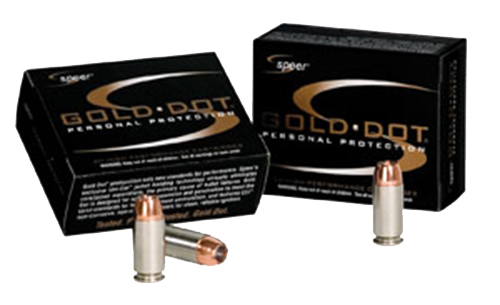 SPR GOLD DOT 380ACP 90GR HP 20/500