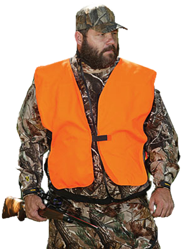 Allen Big Man Vest  <br>  Blaze Orange
