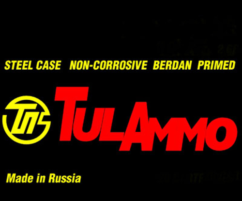 Tulammo UL076203 Centerfire Rifle 7.62X39mm 122 GR FMJ 640 Bx/ 1 Cs
