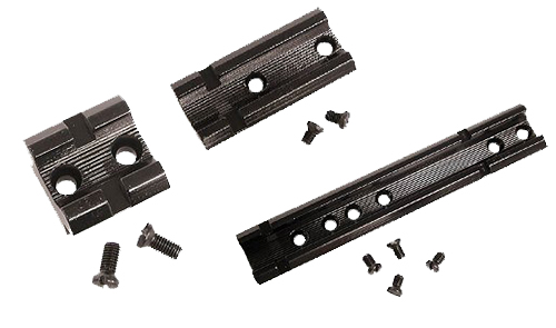 Weaver Mounts 48012 1-Piece Base For Remington, Winchester Top Mount Style Black Gloss Finish