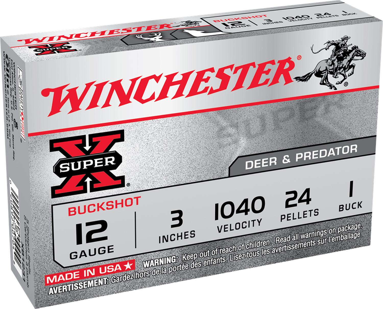 Winchester Ammo XB1231 Super-X Buckshot 12 Gauge 3