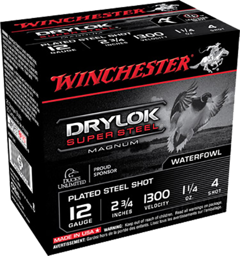 Winchester Ammo XSM124 Drylock 12 Gauge 2.75