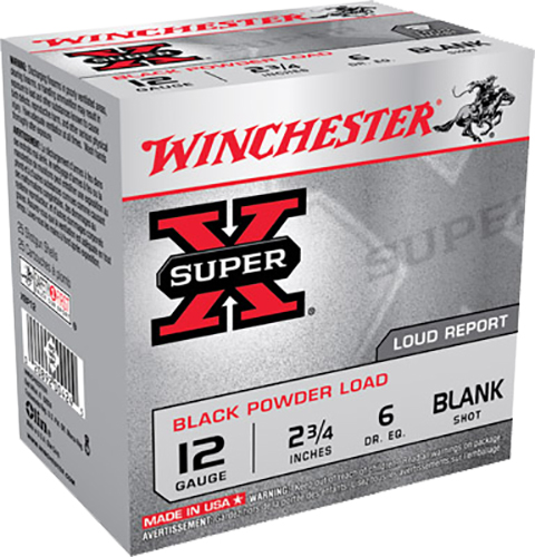 Winchester Ammo XBP12 Super-X Black Powder Load 12 Gauge 2.75