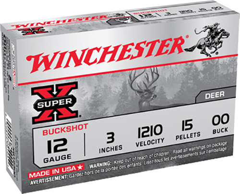 Winchester Ammo XB12300 Super-X Buckshot 12 Gauge 3