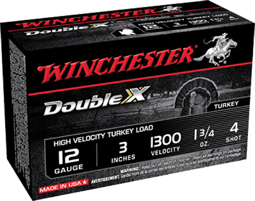 Winchester Ammo STH1234 Double X Turkey 12 Gauge 3