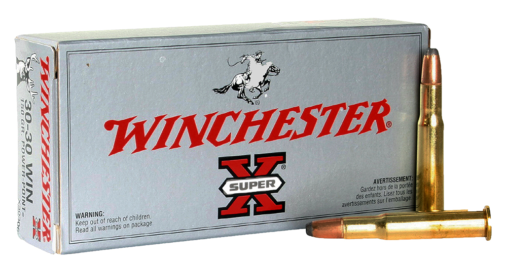 Winchester Ammo X30306 Super-X 30-30 Winchester 150 GR Power-Point 20 Bx/ 10 Cs