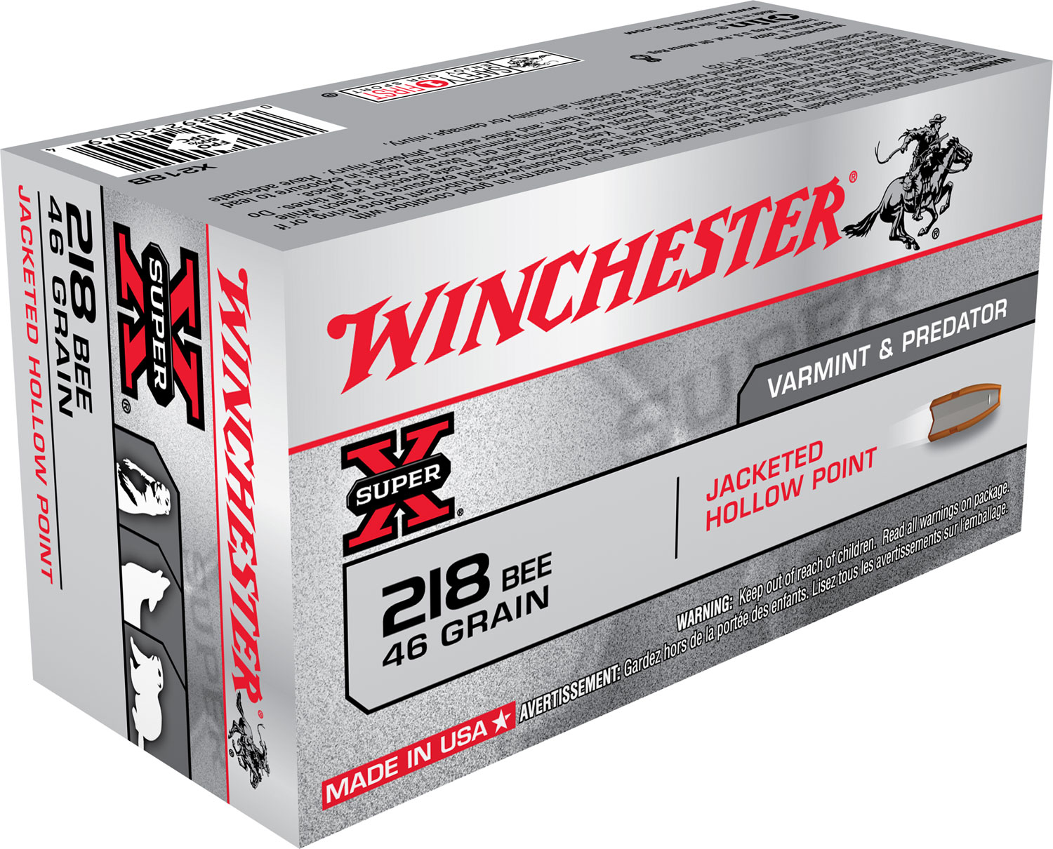 Winchester Ammo X303B1 Super-X 303 British 180 GR Power-Point 20 Bx/10 Cs