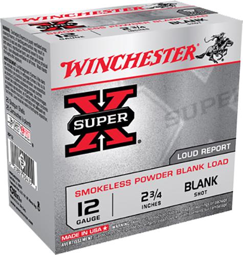 Winchester Ammo XP12 Super-X Smokeless Blank 12 Gauge 2.75