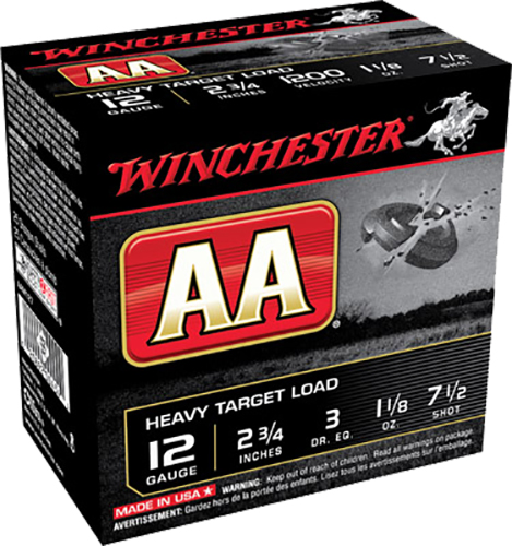 Winchester Ammo AAM127 AA Target Loads 12 Gauge 2.75