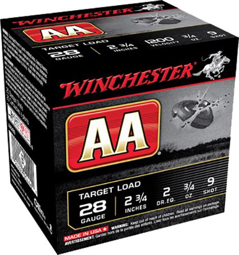Winchester Ammo AA289 AA Target Loads 28 Gauge 2.75