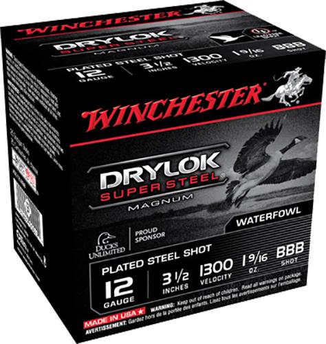 Winchester Ammo XSC12LBBB Drylock 12 Gauge 3.5