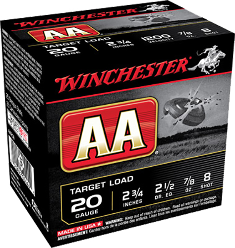 Winchester Ammo AA208 AA Target Loads 20 Gauge 2.75
