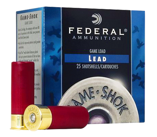 Federal H1265 Game-Shok Upland  12 Gauge 2.75