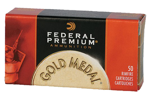 Federal 711B Gold Medal Target  22 Long Rifle (LR) 40 GR Lead Round Nose 50 Bx/ 100 Cs