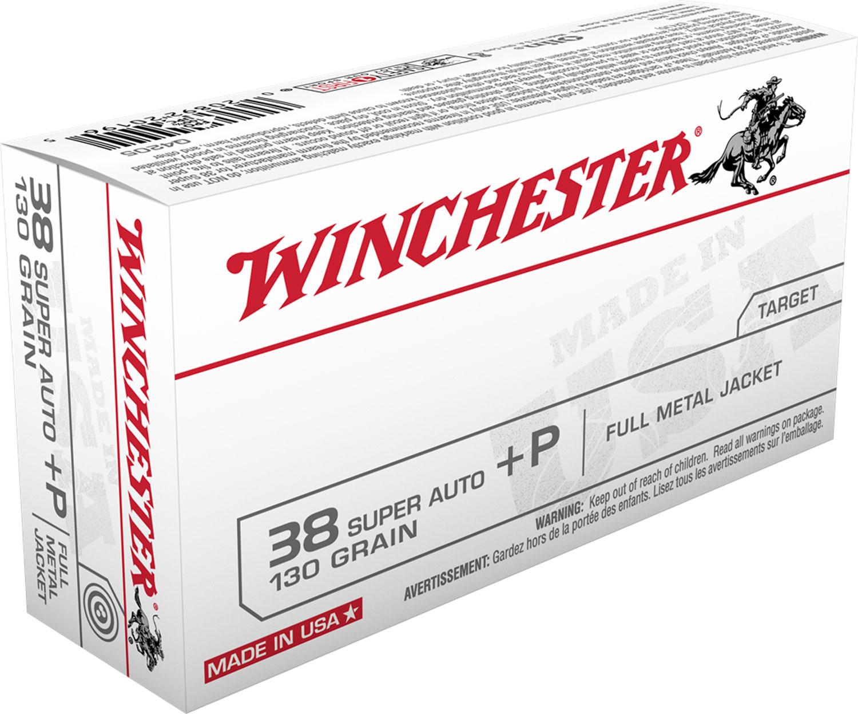 Winchester Ammo Q4205 Best Value 38 Special 130 GR Full Metal Jacket 50 Bx/ 10 Cs