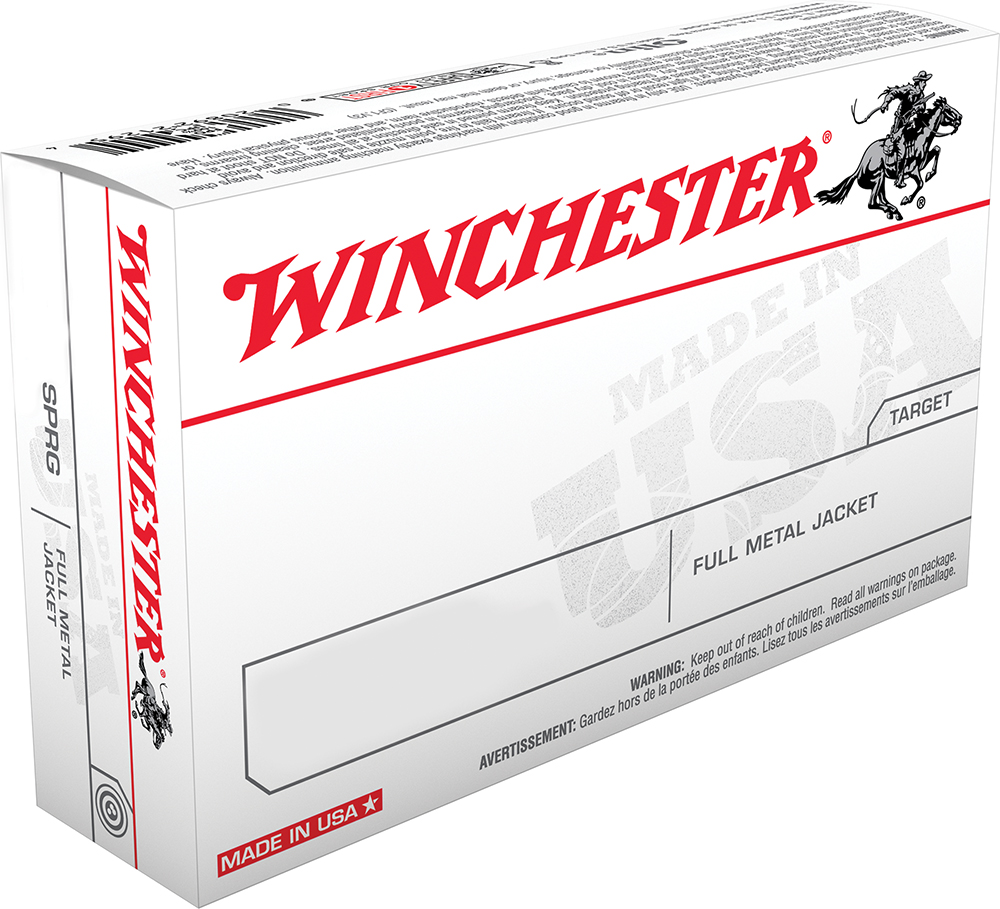 Winchester Ammo USA3006 Best Value 30-06 Springfield 147 GR Full Metal Jacket 20 Bx/10 Cs