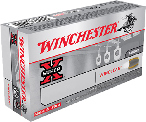 Winchester Ammo WC357SIG WinClean 357 Sig Sauer 125 GR Brass Enclosed Base 50 Bx/ 10 Cs