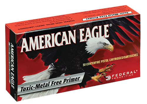 Federal AE380AP American Eagle Handgun  380 Automatic Colt Pistol (ACP) 95 GR Full Metal Jacket 50 Bx/ 20 Cs