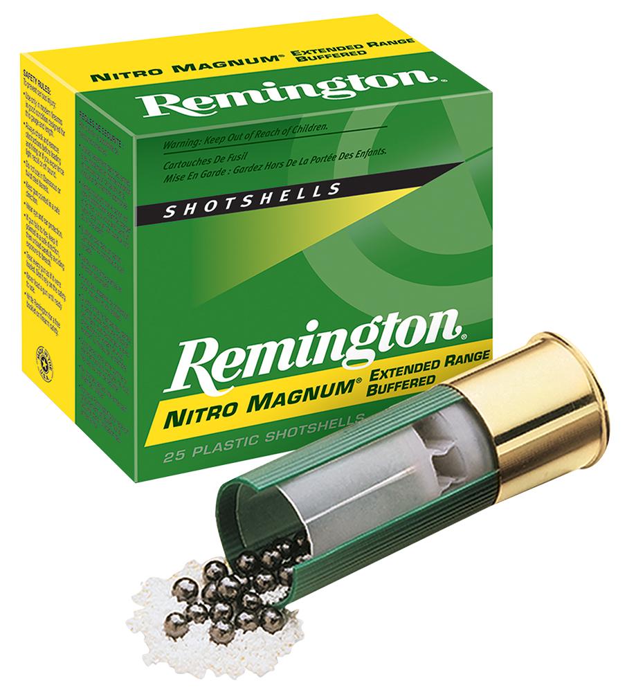 Remington Ammunition NM12S2 Nitro Mag Loads 12 Gauge 2.75
