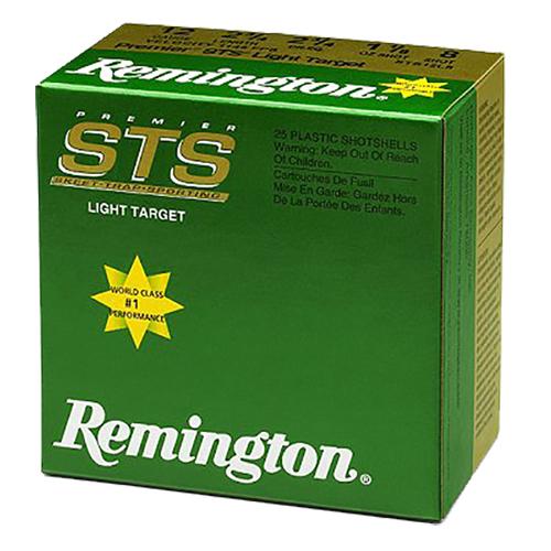 Rem STS12L8 12ga 8 Shot 1-1/8oz 25Bx/10Cs 2.75