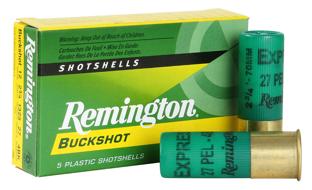 Remington Ammunition 12BK4 Express 12 Gauge 2.75