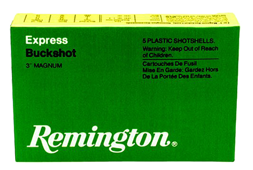 Remington Ammunition 12HB4 Express Magnum Buckshot 20640 12 Gauge 3
